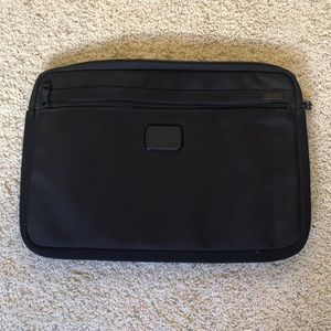 Tumi laptop sleeve bag